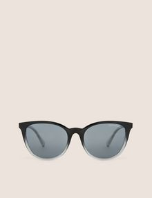 ARMANI EXCHANGE GREY OMBRE ROUNDED SUNGLASSES Sunglass Woman r
