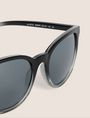 ARMANI EXCHANGE GREY OMBRE ROUNDED SUNGLASSES Sunglass Woman e