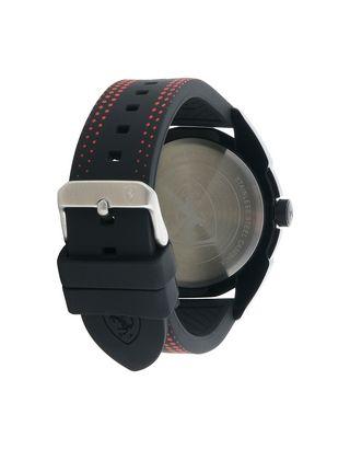 Scuderia Ferrari Online Store - Forza quartz watch in black with red details -