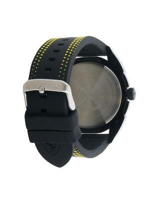 Scuderia Ferrari Online Store - Forza quartz watch in black with yellow details -