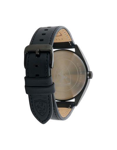 Scuderia Ferrari Online Store - Abetone watch in black with red dial - Quartz Watches