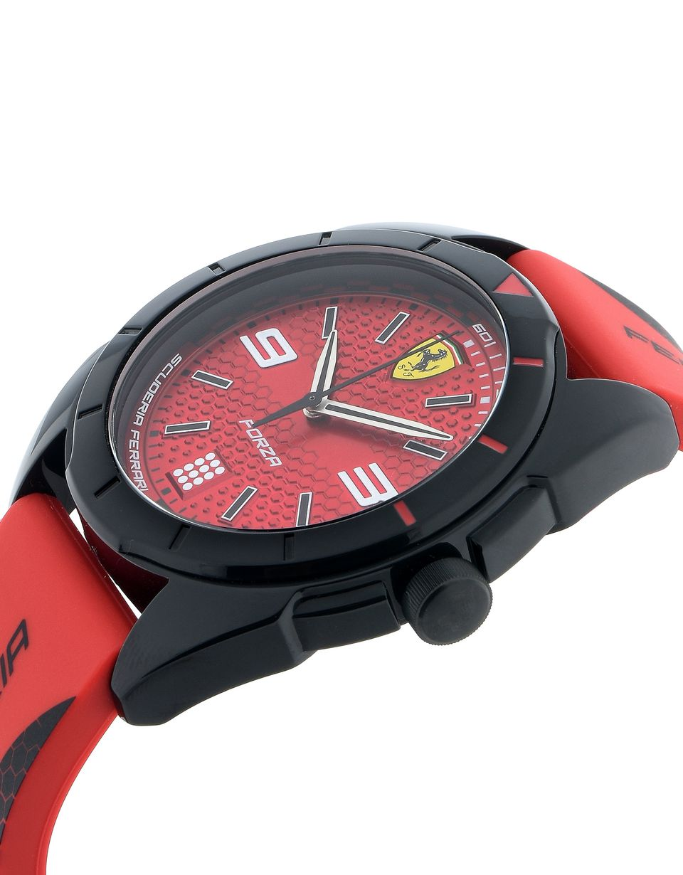 Scuderia Ferrari Online Store - Forza quartz watch in red and black - Quartz Watches