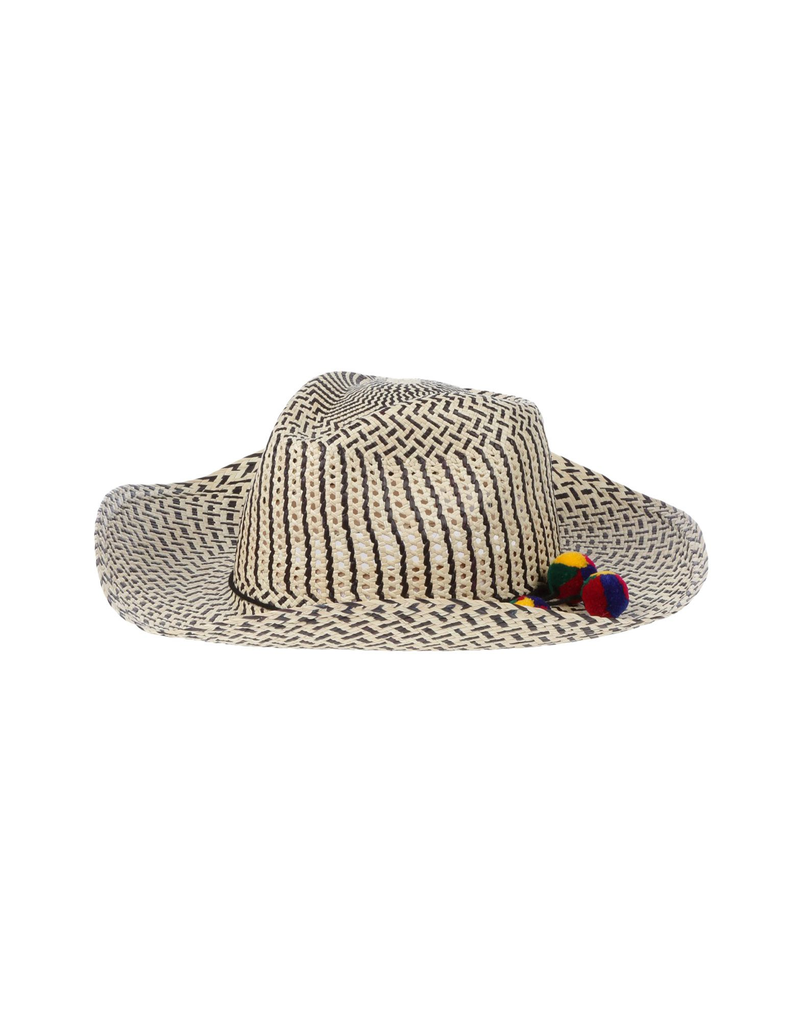 《送料無料》SENSI STUDIO レディース 帽子 ブラック L ラフィア
