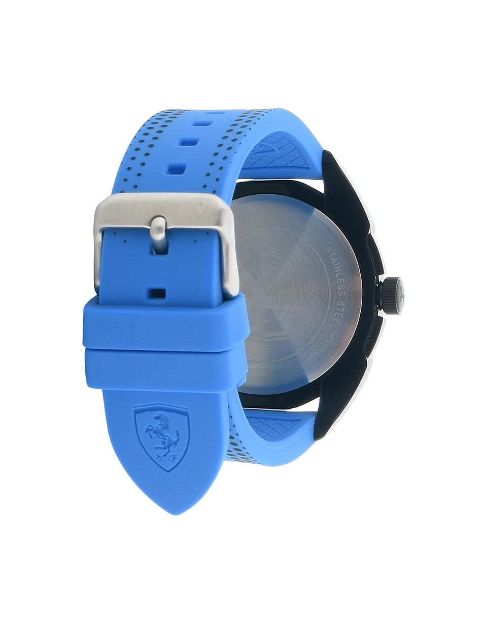 Scuderia Ferrari Online Store - Forza watch with blue dial and detailing - Quartz Watches