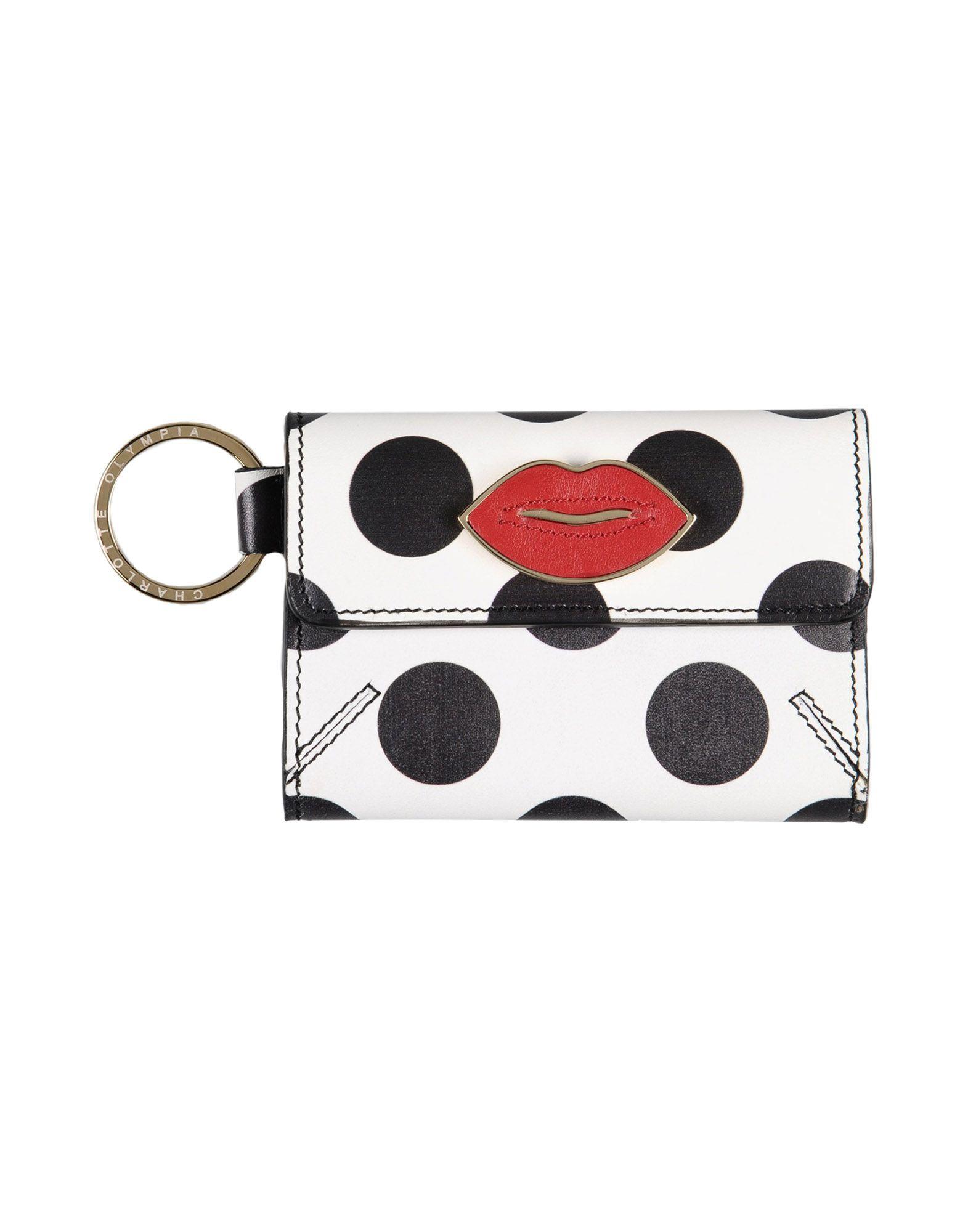 Фото - CHARLOTTE OLYMPIA Кошелек для монет charlotte olympia кошелек из металлизированной кожи pouty purse