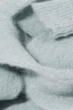 REDValentino Mohair-blend scarf