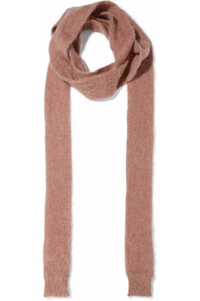 REDValentino Mohair-blend scarf