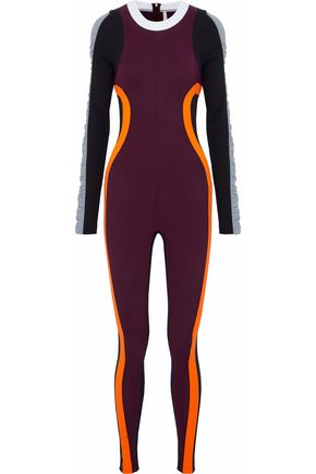 NO KA 'OI Kimo color-block scuba bodysuit