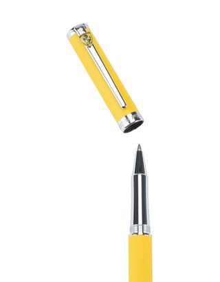 Scuderia Ferrari Online Store - Sheaffer Ferrari Intensity Satin Yellow Pen - Ballpoint Pens