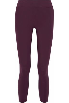 NO KA 'OI Keia cropped tech-jersey leggings