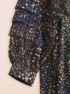 Firework print dress