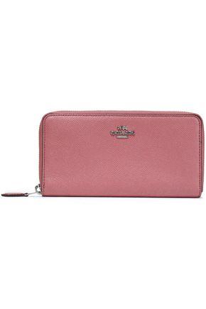 COACH Metallic leather wallet