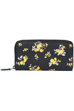 COACH Floral-print leather wallet