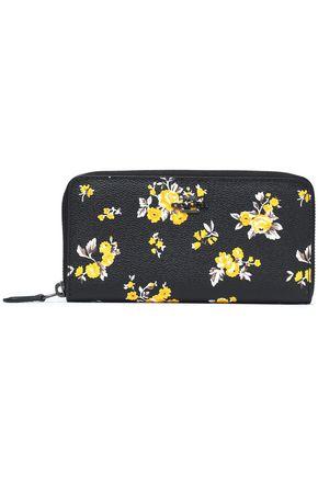 COACH Floral-print leather wallet