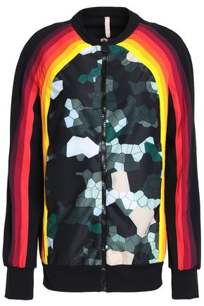 NO KA 'OI Printed jersey jacket