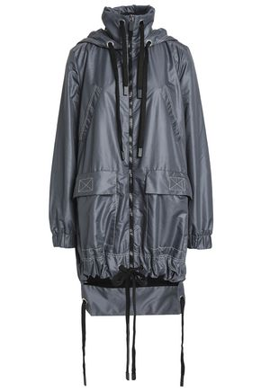NO KA 'OI Shell hooded jacket