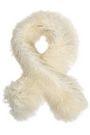 KARL DONOGHUE Shearling scarf