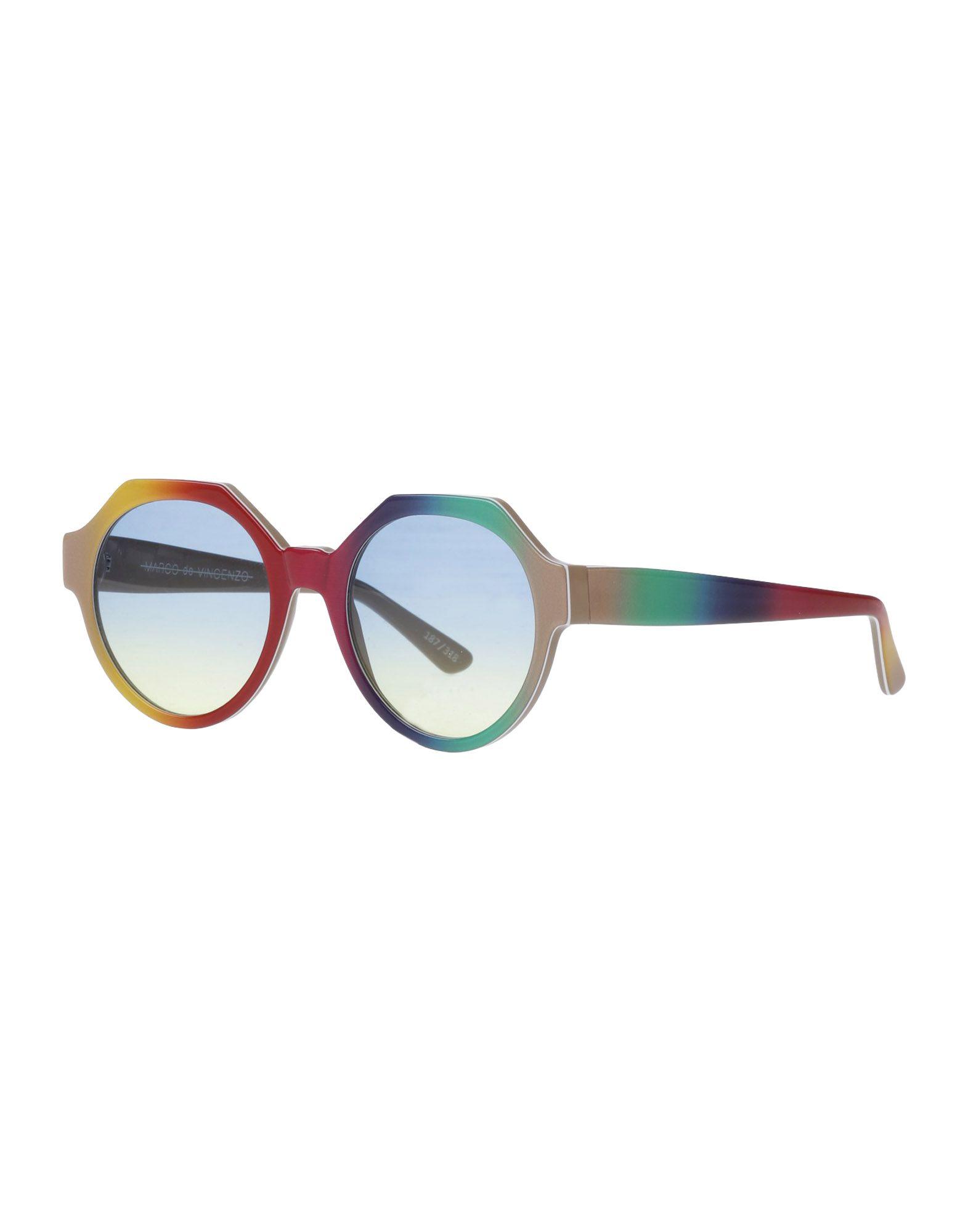 MARCO DE VINCENZO Солнечные очки очки солнцезащитные enni marco enni marco mp002xw1am8e
