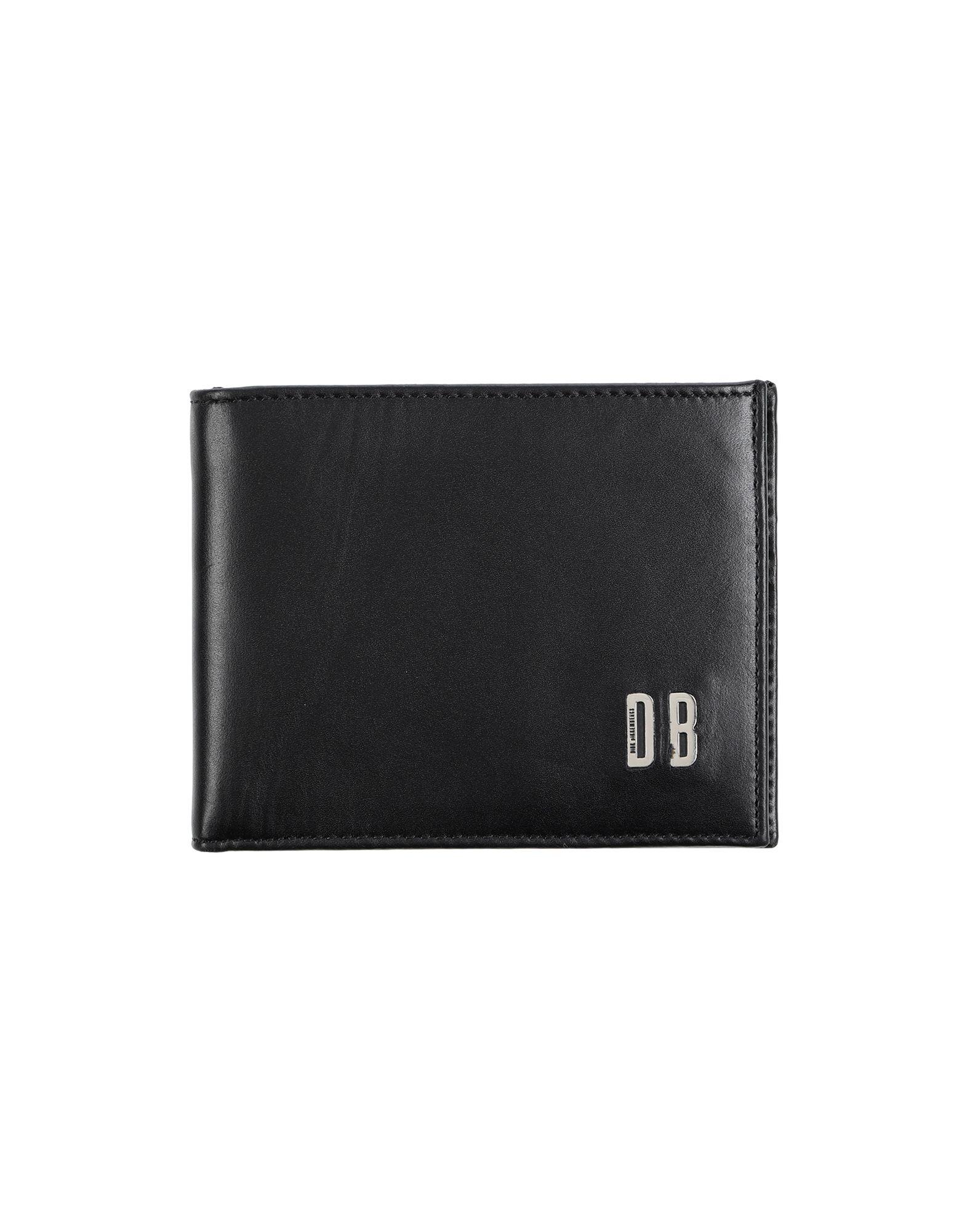 《送料無料》DIRK BIKKEMBERGS メンズ 財布 ブラック 革