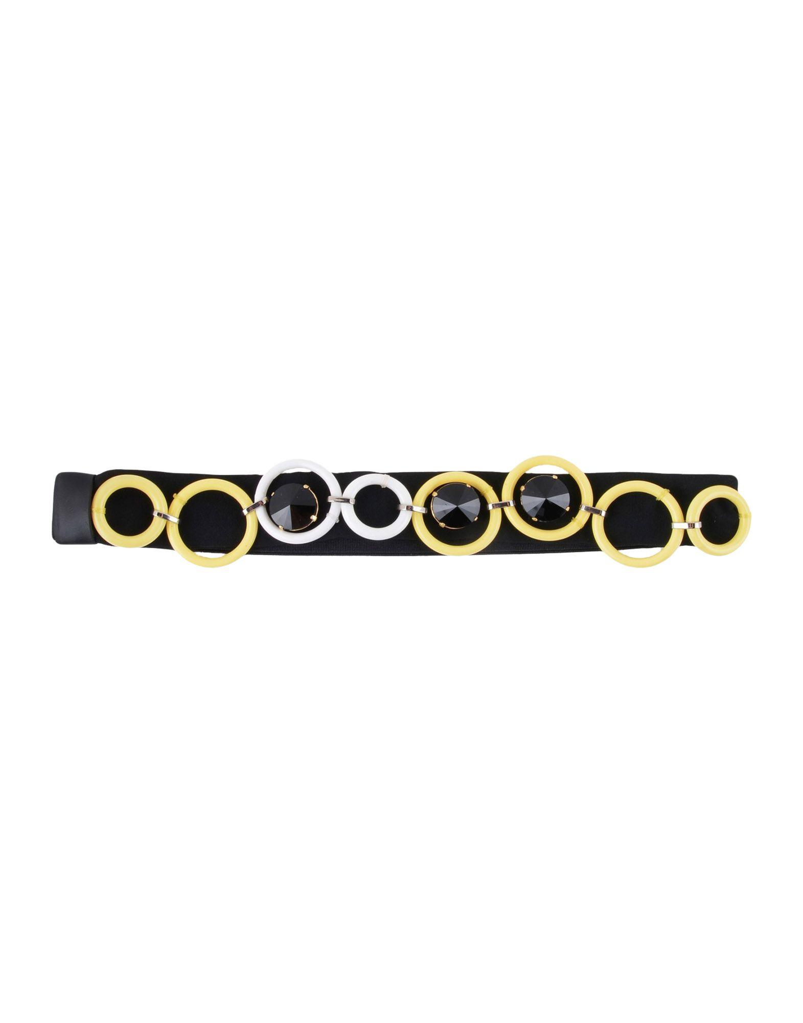 《期間限定セール中》MARNI レディース ヘアアクセサリー ライトイエロー 紡績繊維 / プラスティック / ポリウレタン