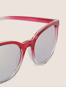 ARMANI EXCHANGE PINK OMBRE ROUNDED SUNGLASSES Sunglass Woman e
