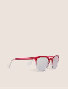 ARMANI EXCHANGE PINK OMBRE ROUNDED SUNGLASSES Sunglass Woman f