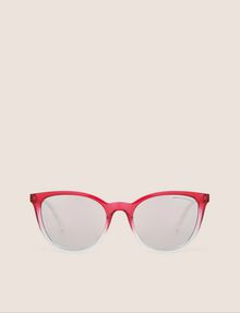 ARMANI EXCHANGE PINK OMBRE ROUNDED SUNGLASSES Sunglass Woman r