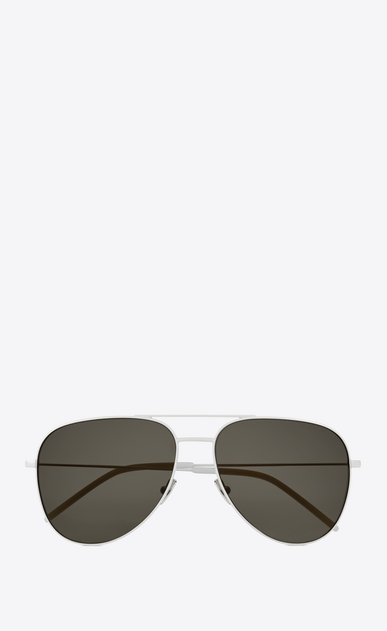 SAINT LAURENT CLASSIC E Classic 11 white and gray sunglasses a_V4