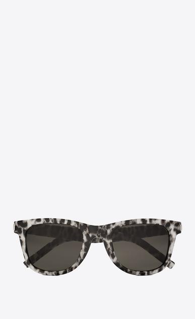 SAINT LAURENT CLASSIC E Classic 51 leopard print sunglasses a_V4