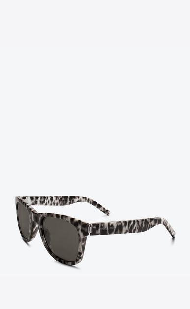 SAINT LAURENT CLASSIC E Classic 51 leopard print sunglasses b_V4