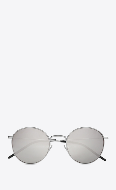 SAINT LAURENT CLASSIC E CLASSIC 250 silver-toned sunglasses a_V4