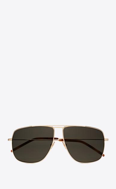 SAINT LAURENT CLASSIC E CLASSIC 251 gold-toned and gray sunglasses a_V4