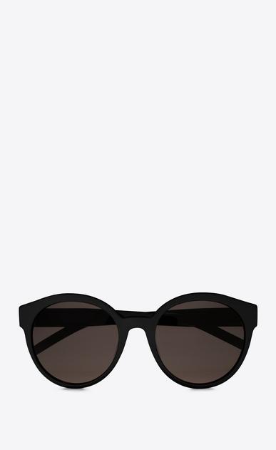 SAINT LAURENT MONOGRAM SUNGLASSES Woman MONOGRAMME M31 black sunglasses a_V4