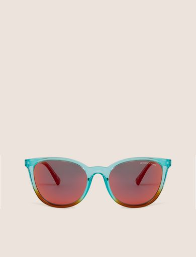 OCEANSIDE OMBRE ROUNDED SUNGLASSES