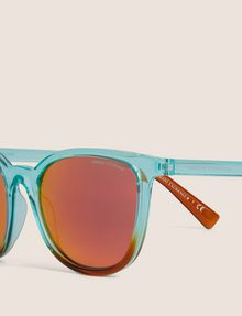 ARMANI EXCHANGE OCEANSIDE OMBRE ROUNDED SUNGLASSES Sunglass Woman d