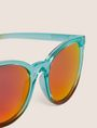 ARMANI EXCHANGE OCEANSIDE OMBRE ROUNDED SUNGLASSES Sunglass Woman e