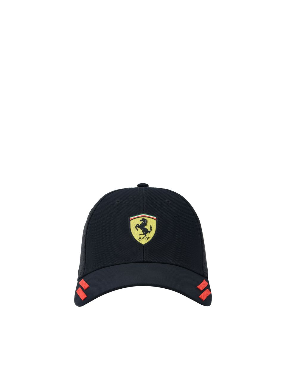 Scuderia Ferrari Online Store - Men's cap with elasticated back - Baseball Caps