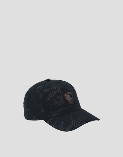 Men's camouflage racing cap
