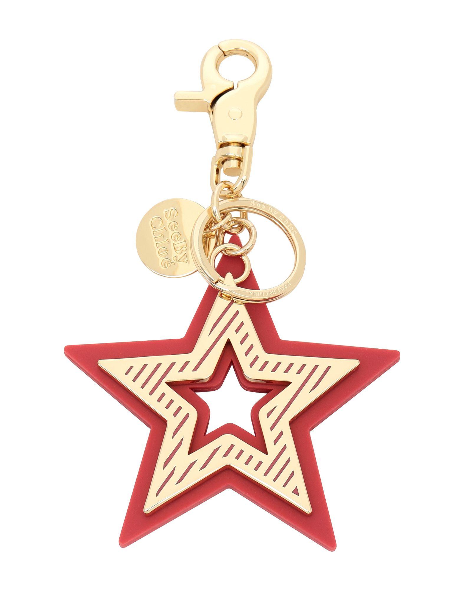 SEE BY CHLOÉ Брелок для ключей jobon zhongyin брелок для ключей кольцо для ключей цепочка для ключей мать двойной брелок для ключа талия висит zb 020b черный