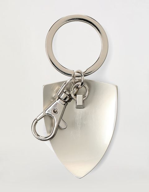 Scuderia Ferrari Online Store - Shield shaped metal keyring - Keyrings