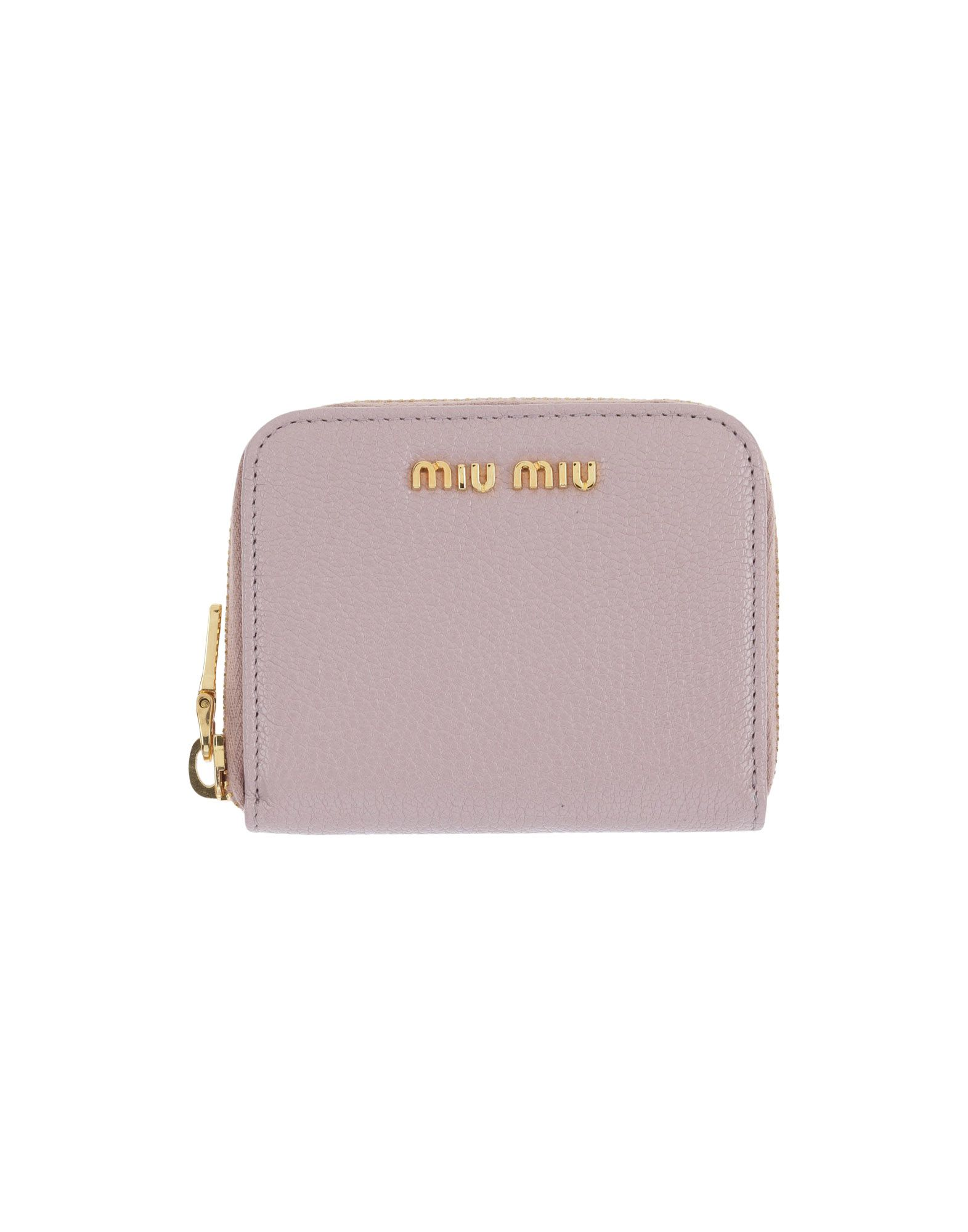 MIU MIU Кошелек для монет pink dandelion design кожа pu откидной крышки кошелек для карты держатель для samsung j5prime