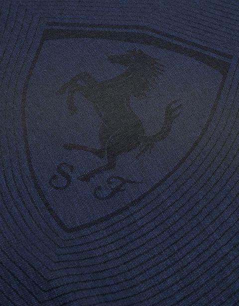 Scuderia Ferrari Online Store - Quadratisches Tuch mit Ferrari-Abzeichen - Tücher