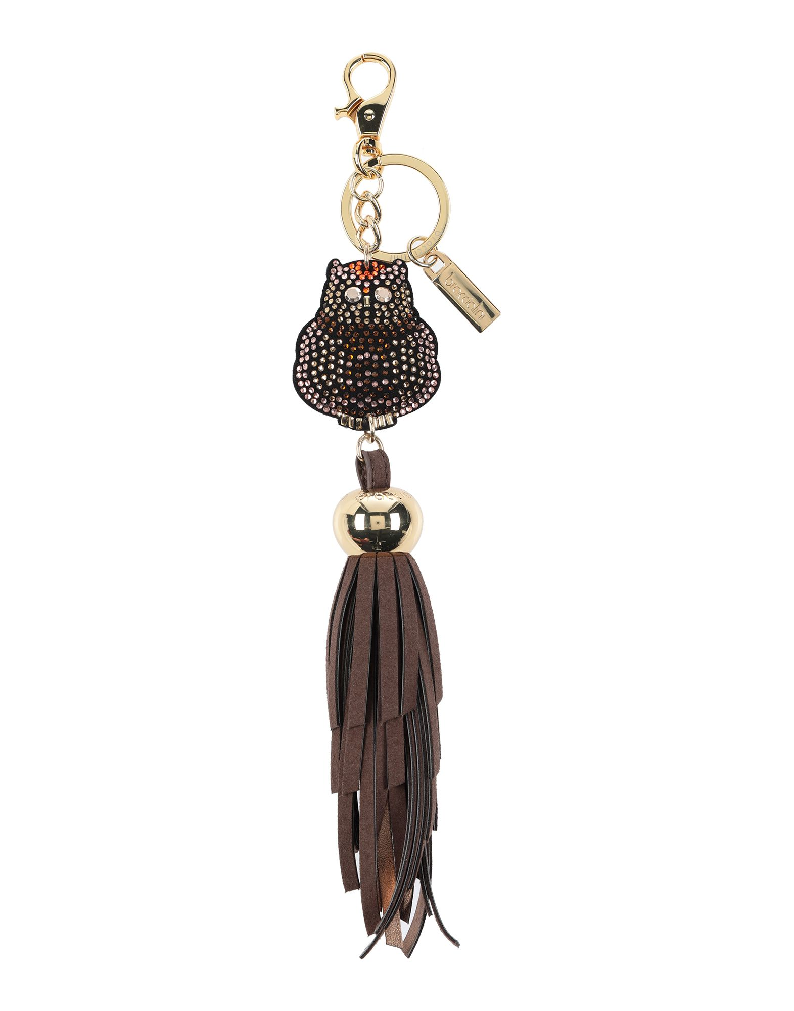 BRACCIALINI Брелок для ключей jobon zhongyin брелок для ключей кольцо брелок для ключей волокно кожа двойной брелок для переноски zb 030g розовое золото