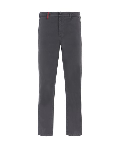 Scuderia Ferrari Online Store - Men's trousers with pockets on the back - Chinos