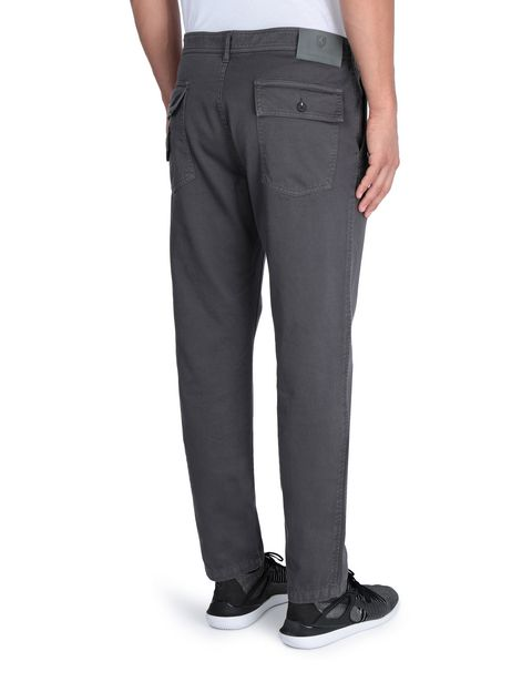 Men's trousers with rear pockets