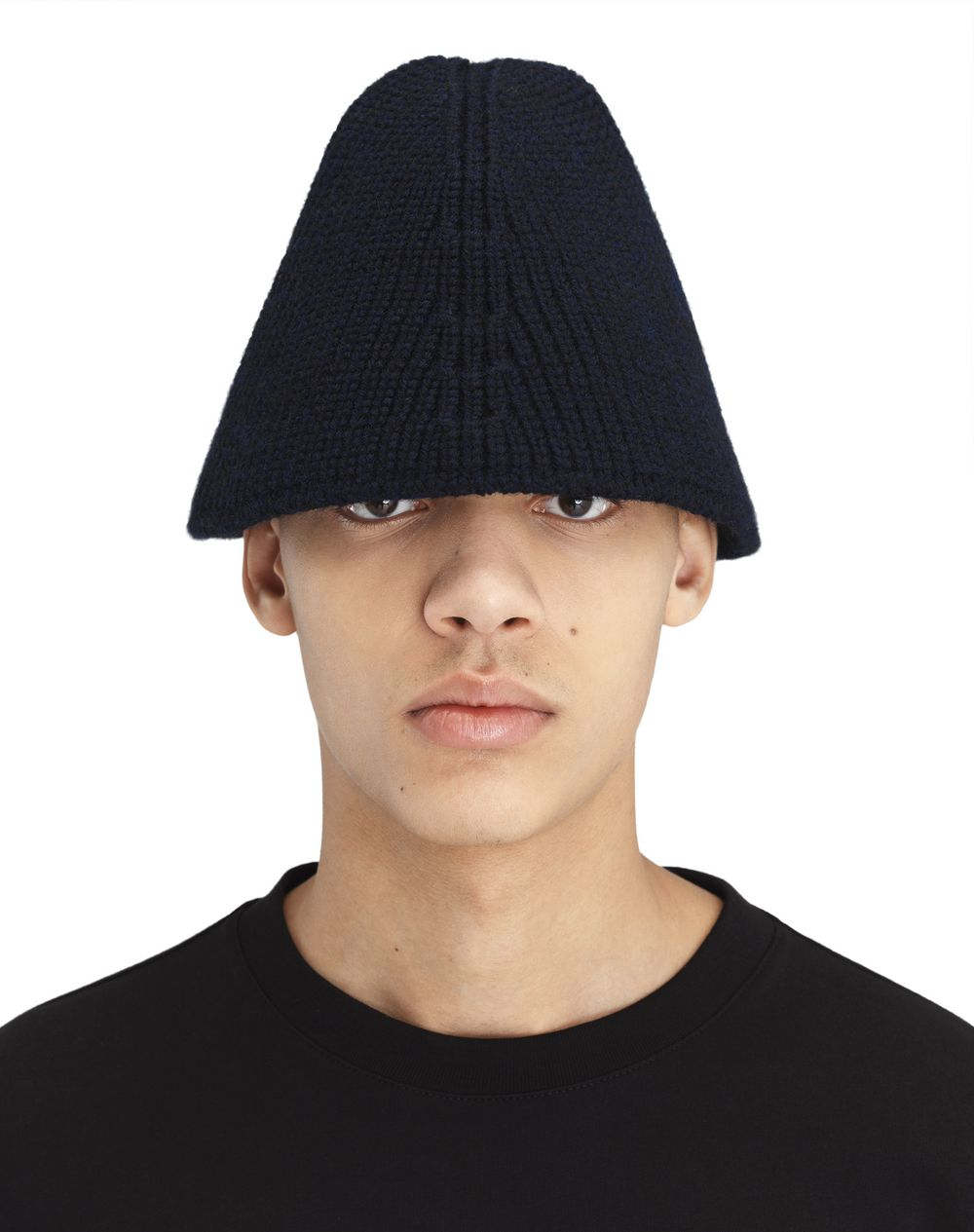 SMALL KNIT BUCKET HAT - Lanvin