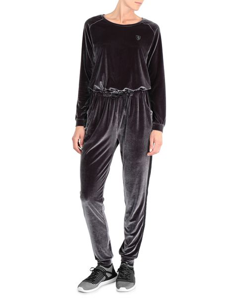 Women's chenille jumpsuit