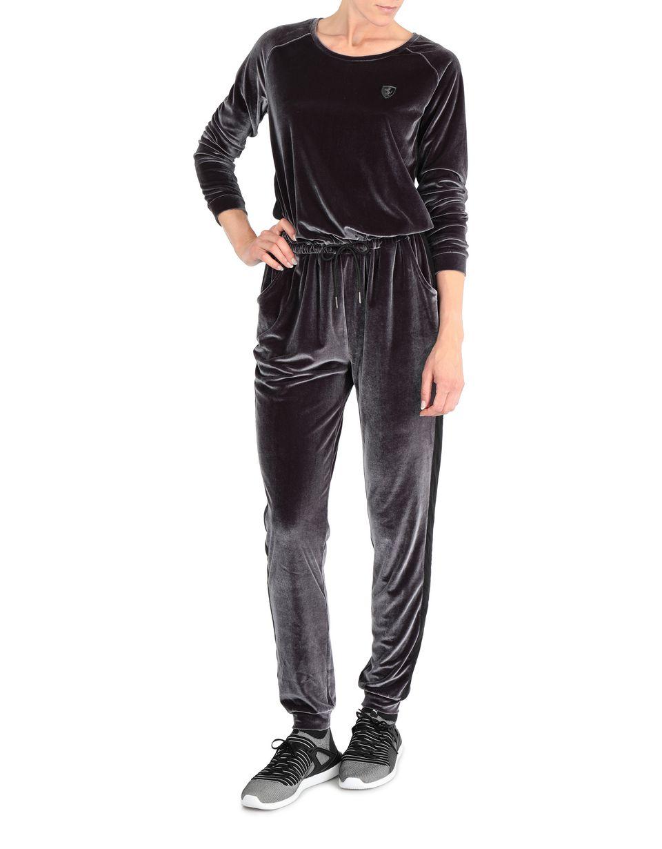 Scuderia Ferrari Online Store - Women's chenille sweatsuit - Jumpsuits
