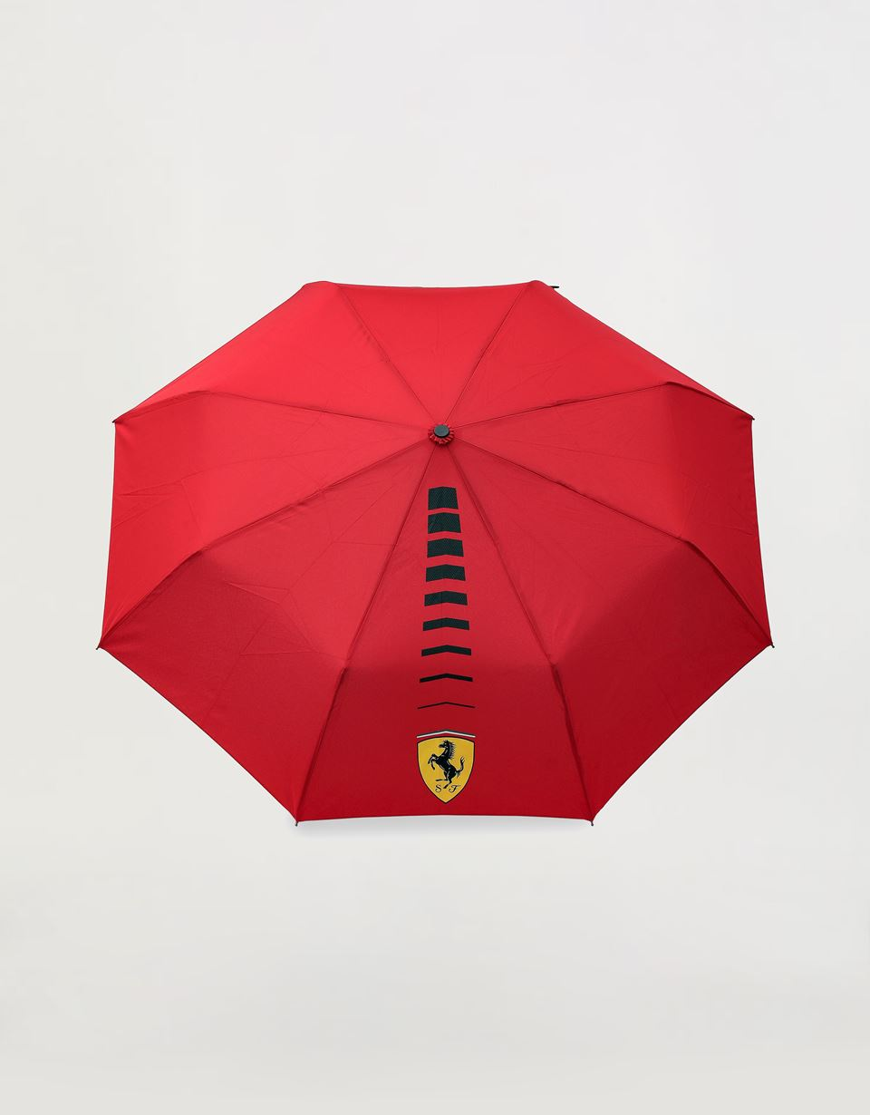 Scuderia Ferrari Online Store - Scuderia Ferrari folding umbrella with automatic opening and closing - Mini Umbrellas