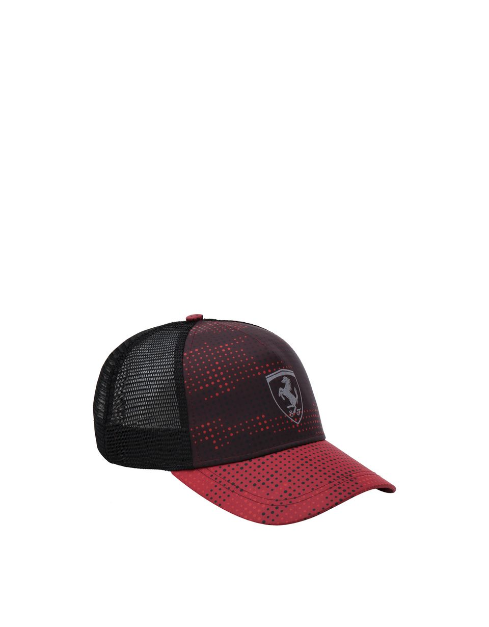 Scuderia Ferrari Online Store - Perforated men's camouflage print hat - Baseball Caps